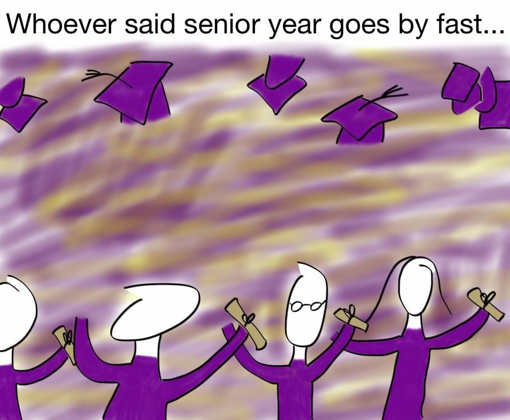Cartoon – The true senioritis