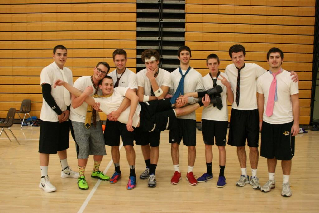 JGwentworth wins style competition at dodgeball competition