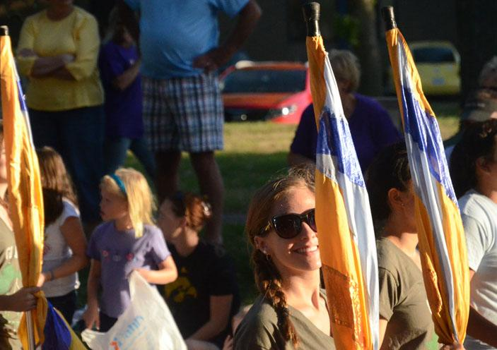 Parade celebrates homecoming
