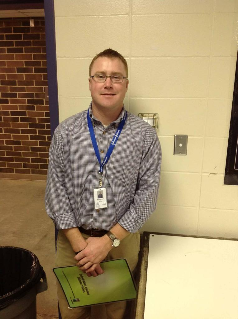 New+athletic+trainer+arrives+at+Johnston