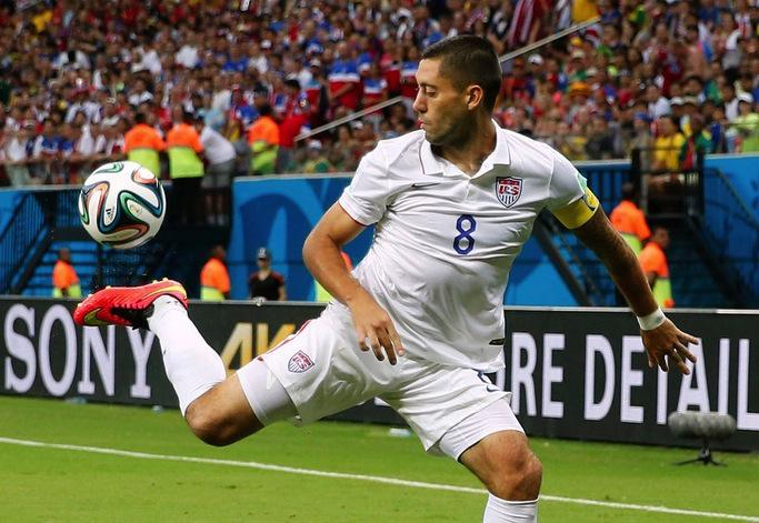 Forward+and+captain+of+the+USMNT+Clint+Dempsey+is+key+for+the+team+to+advance+in+the+World+Cup.+Dempsey+shows+incredible+skill%2C+which+was+obvious+in+his+goal+against+Ghana+in+the+first+29+seconds+of+the+game.+He+also+shows+rare+toughness%2C+visible+again+in+the+Ghana+match+when+he+got+kicked+in+the+face%2C+coughed+up+blood%2C+and+then+returned+to+the+field+to+play.+Dempsey+will+need+to+execute+the+offense+early+in+the+game+in+order+for+the+U.S.+to+pull+out+a+win+against+Germany.