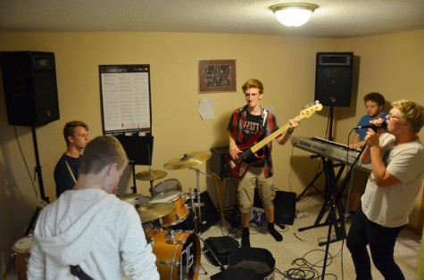 Local band transfers to iTunes