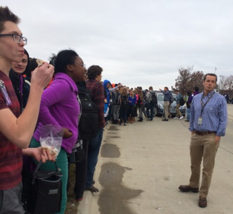 Fire alarm causes chaos