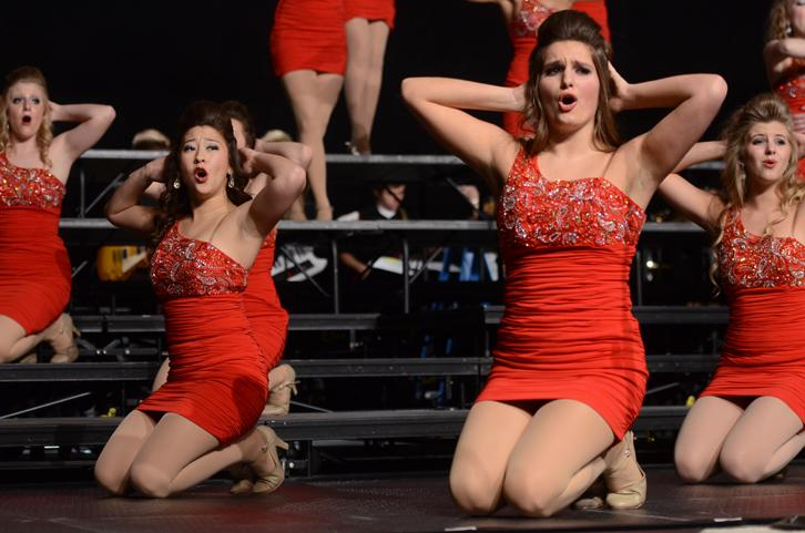 Show choirs Innovation and Synergy performed at Showzam in exhibition shows at Showzam Saturday, Jan. 24.