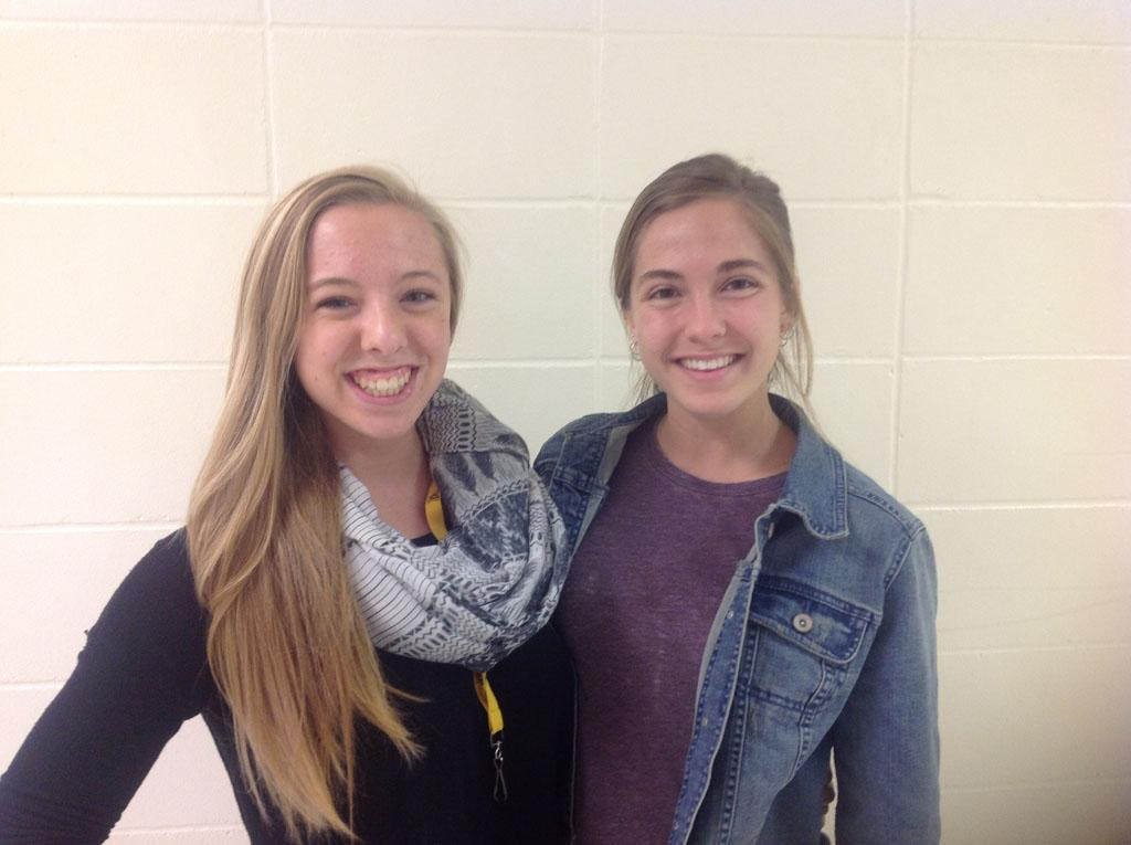 Seniors Autumn Askew and Elea Kaptain joined the Distinguished Young Women program this year, and Askew won the competition and will represent the state of Iowa.