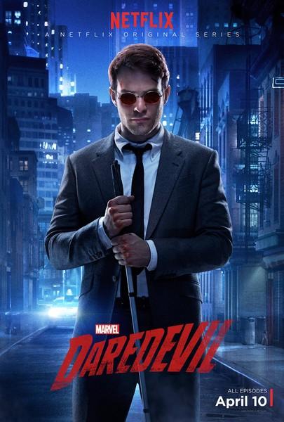 Charlie Cox as Matt Murdock.