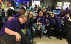 The Special Olympics bowling team competed at Plaza Lanes Oct. 20. Students Miranda Kerr and Mason Merak qualified for the state competition Nov. 19.
