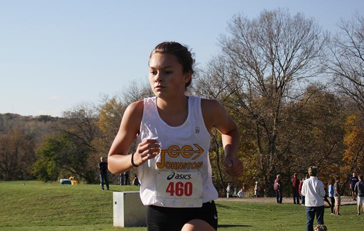 Paige Horner placed fourth for the Girl's. Horner ran a time of 18:34