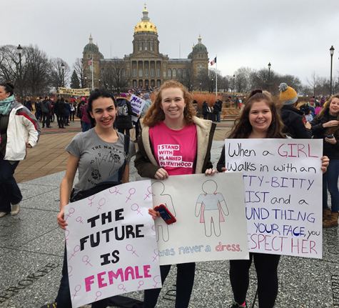 Women's March draws in young activists