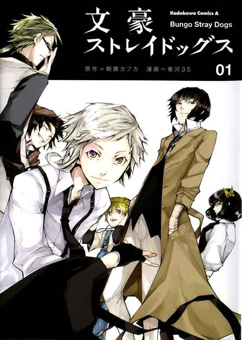 Bungou Stray Dogs: not worth the read