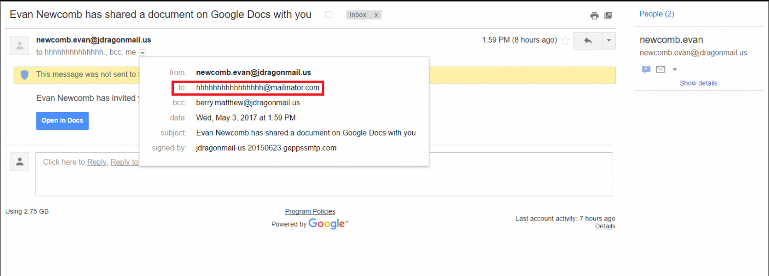Google Docs phishing scam explained