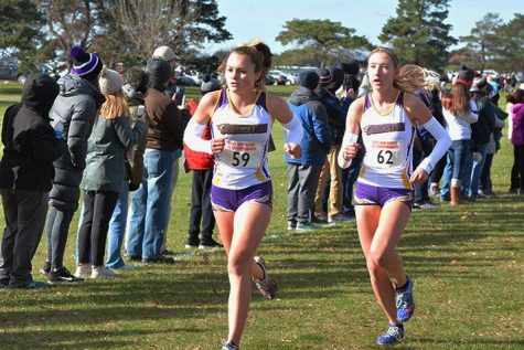 Girls win second straight cross country title