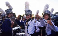 Marching band performs at Valleyfest