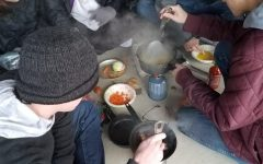 Cooking in the cold