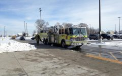 Unexpected fire alarm ends school day early