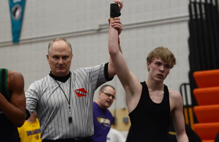 Johnston wrestlers win districts