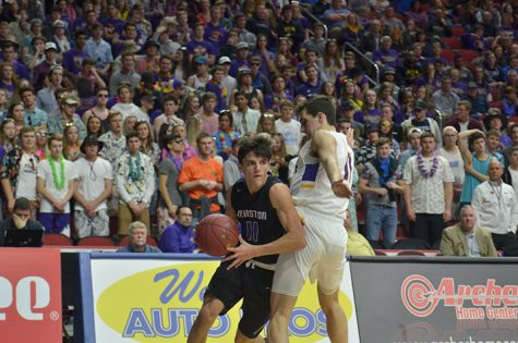 Boys' Basketball loses to Waukee in state quarterfinal 60-58