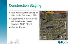 City of Johnston announces construction on 70th Avenue