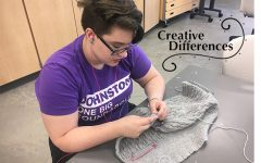 Senior open studio gives students the artistic freedom to just create