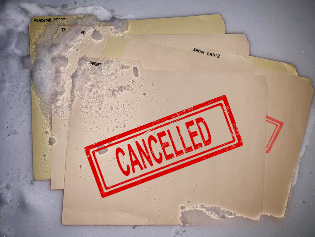 A number of extracurricular activities have been cancelled this winter.