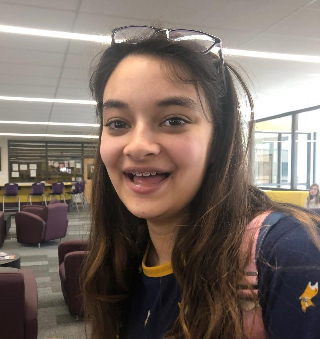 Sophia Fleming '21 uses self-deprecating humor daily.