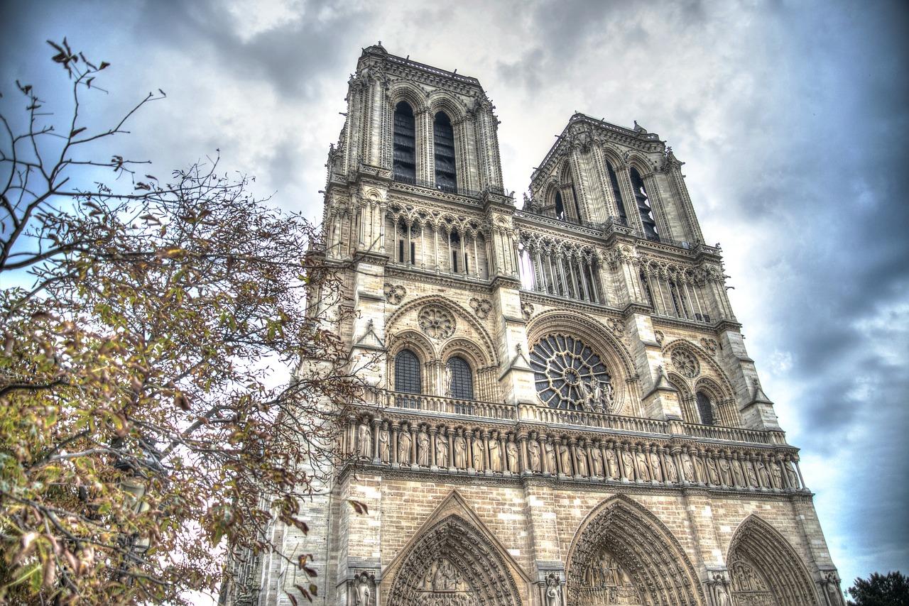 Notre Dame de Paris before the catastrophic fire