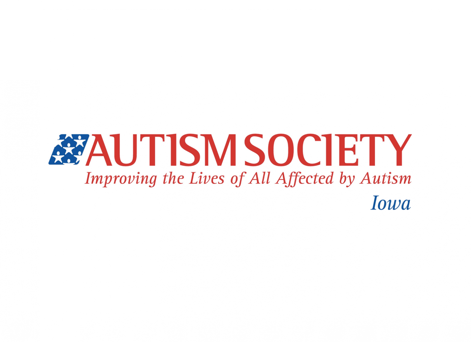 Logo provided by the Autism Society of Iowa.