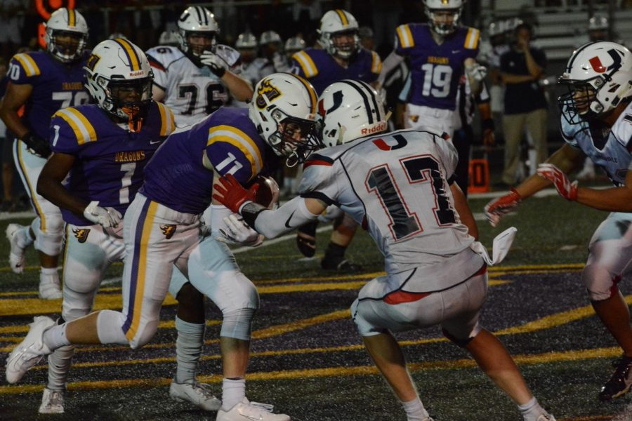 Boys Football Crushes Urbandale 27-6 At Home Opener