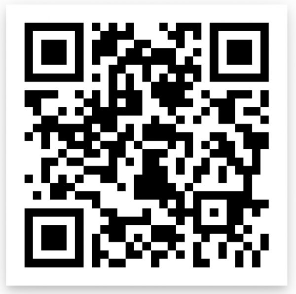Scan this QR code to register to vote.