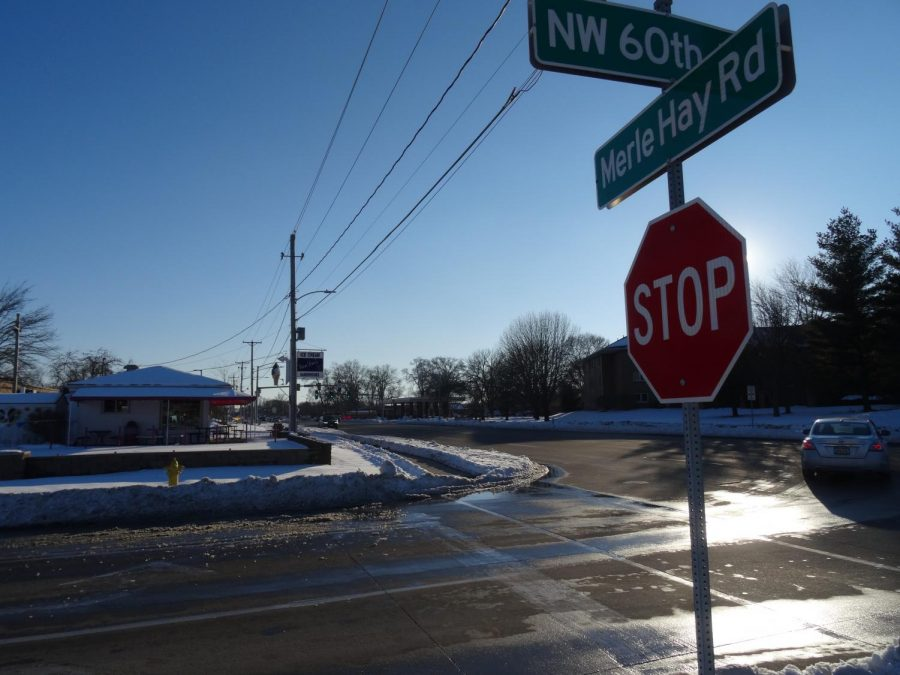 At the corner of 60th St and Merle Hay Rd, Van Dee's Ice Cream Shoppe is popular among the community.