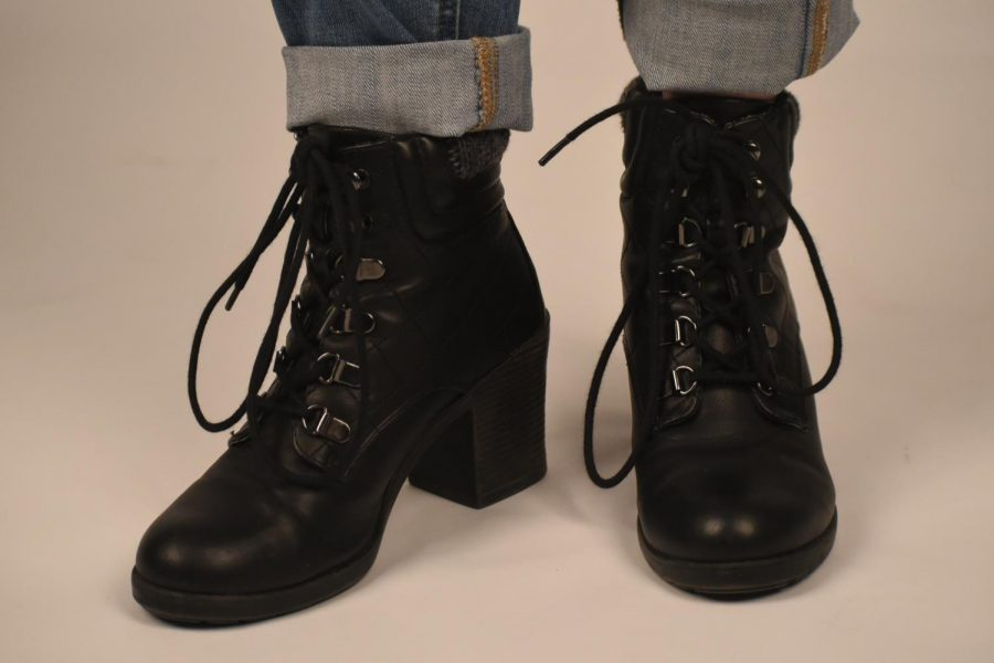 Ellery Whitelaw- black boots with height